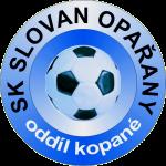 Znak SK Slovan Opařany, oddíl kopané