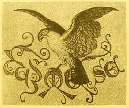 Znak Sokolu Opařany, rok 1933 (zdroj kronika obce)