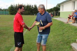 FK Řepeč-Opařany na turnaji 17. ročníku Memoriálu J. Vakoče v Opařanech 3.8.2018 skončili druzí
